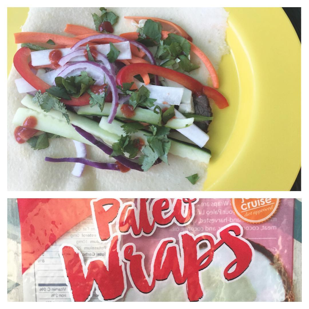 I these CRAPfree wraps! bahnmi summerstyle lunch superswap CRAPfree iamnotpaleohellip