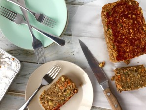 Sunflower Lentil Loaf