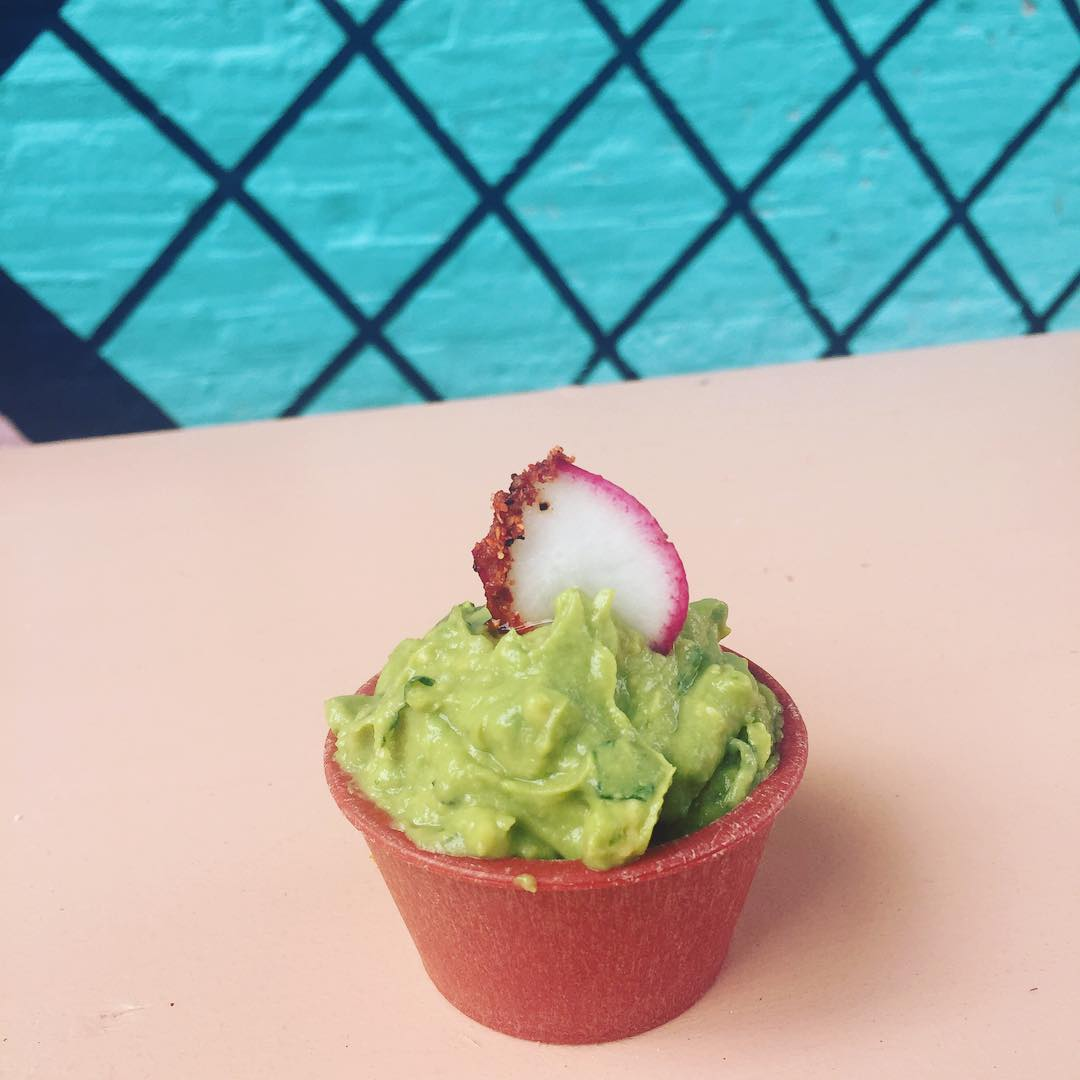 Thx for the cutest side GUAC ever antiquetaco! avocado healthyfathellip