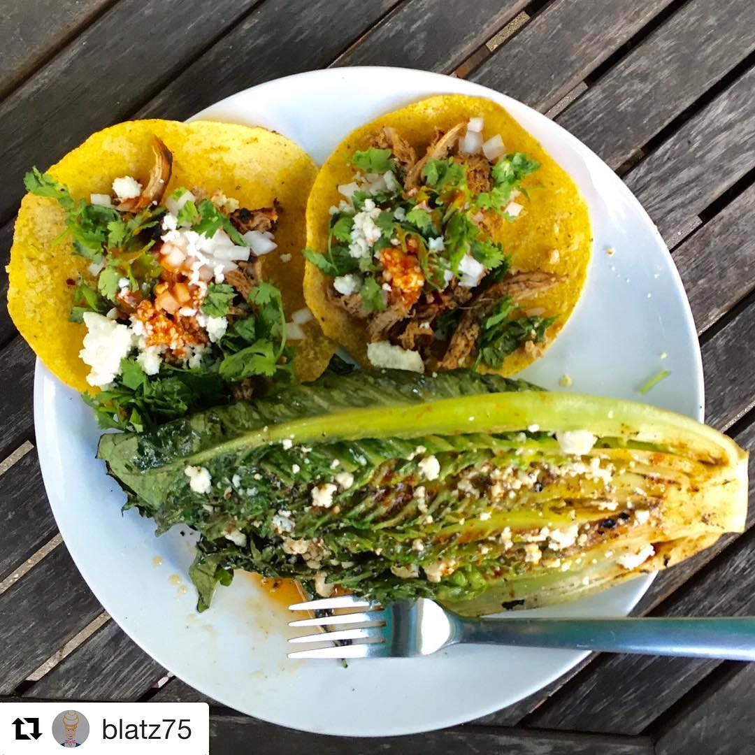 Repost blatz75 tacotuesday The Grilled Romaine Wedge is my newhellip