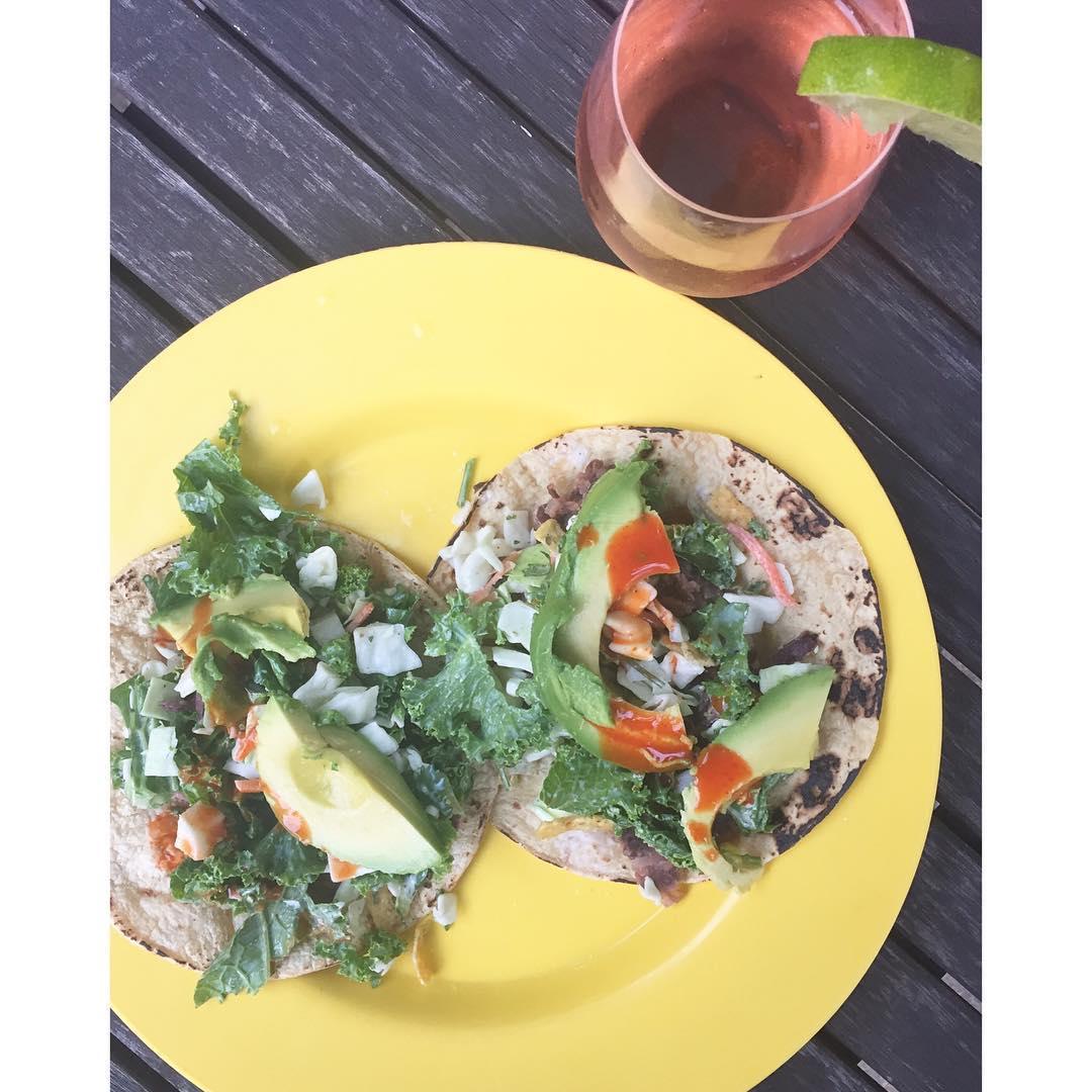 Kale Avocado TACO Party!     EverydayIsTacoTuesday alfrescodininghellip