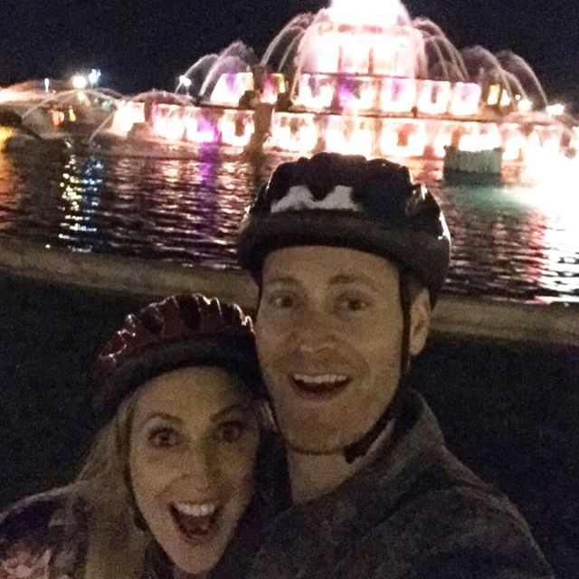 Chicago City Lights Night Bike Ride Thx bobbysbikehikechicago touristinmyowncity mykindoftownhellip