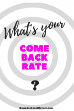 Come Back Rate