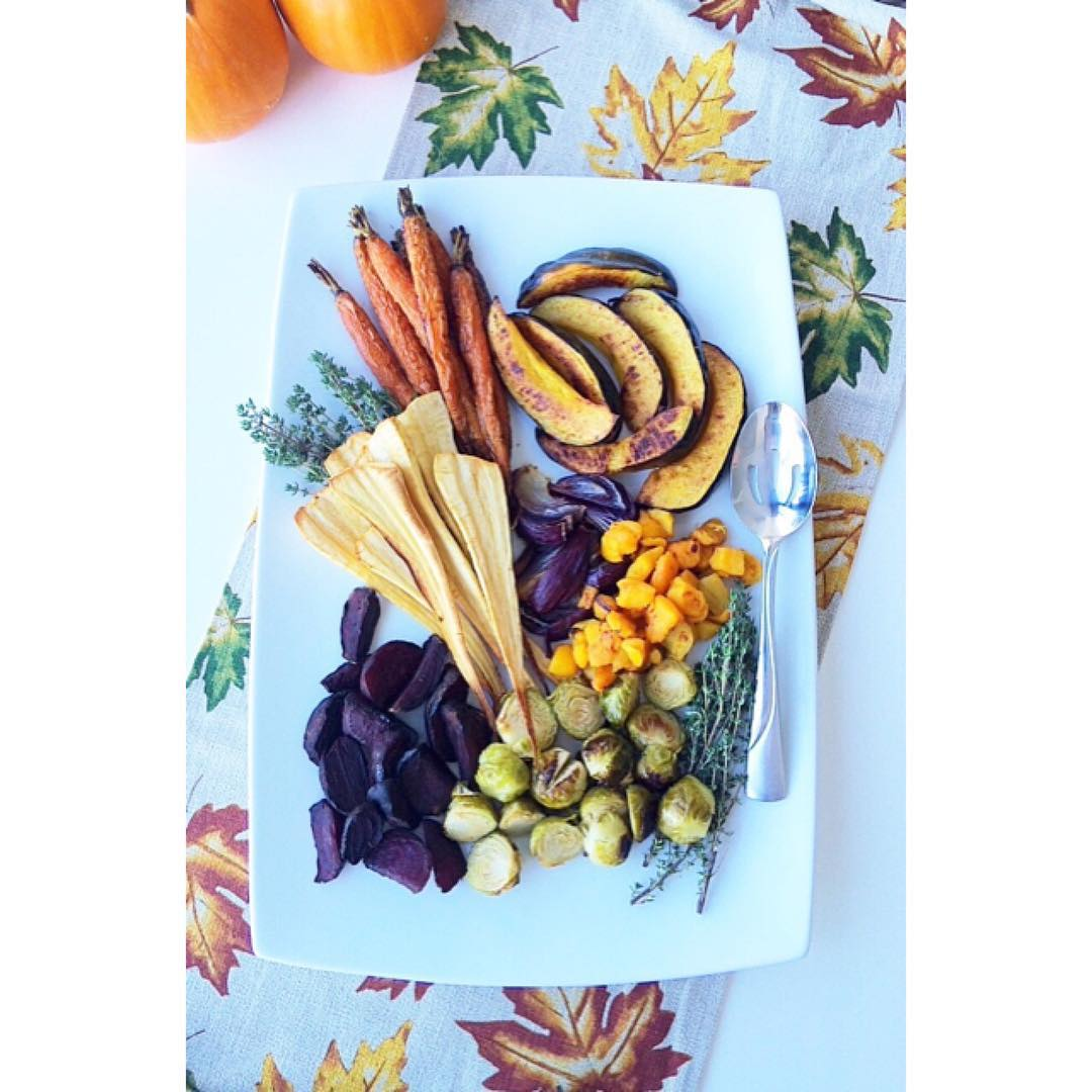Become a ROASTED VEGGIE pro Your Thanksgiving table will thankhellip