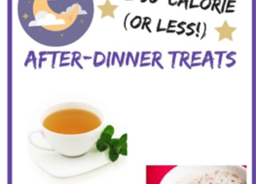 Five 50-Calorie After-Dinner Treats