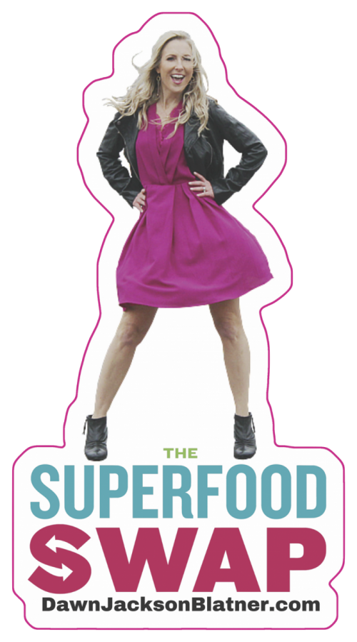 The Superfood Swap sticker-bookmark