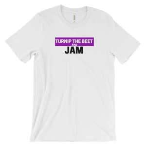 Turnip the Beet and Jam – t-shirt