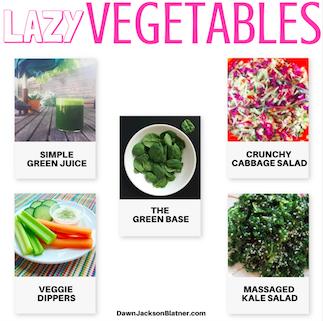 Lazy Vegetables