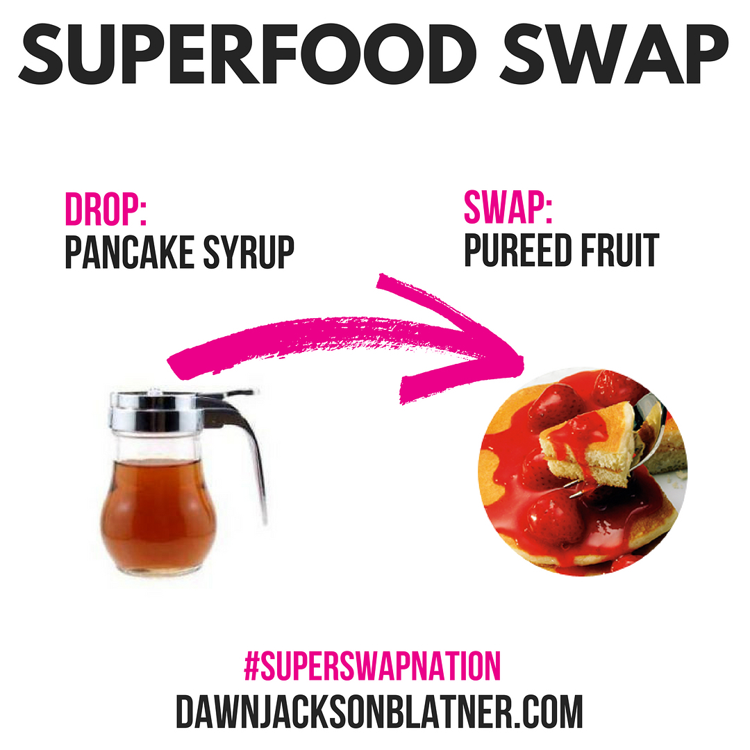 Sunday Superfod Swap Skip the syrup! Instead SuperSwap it forhellip