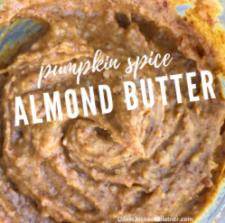 Pumpkin Spice Almond Butter