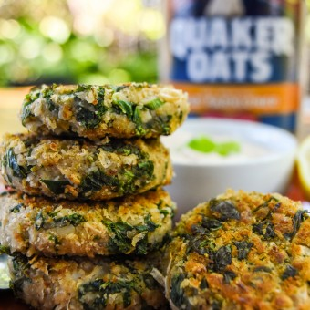 Quaker Kale Fritters