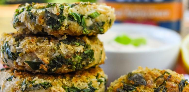 Quaker Kale Fritters