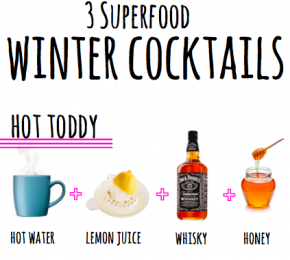 Three Superfood Winter Cocktails