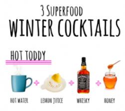 Three Superfood Winter Cocktails