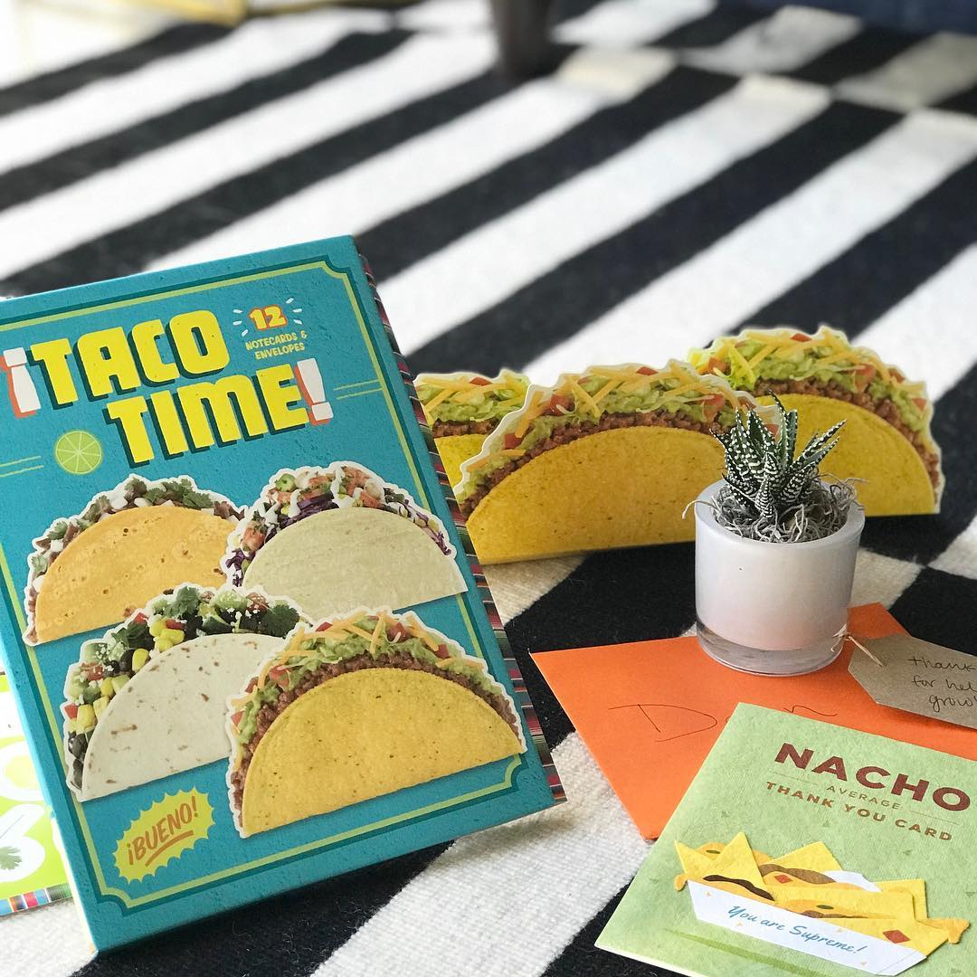 Yup Its official Everyone needs TACO note cards I meanhellip