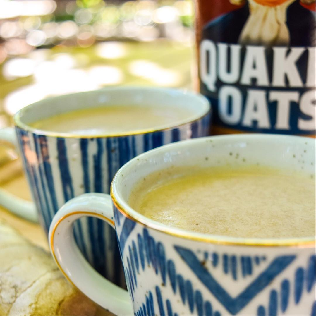 Cheers to digestive wellness this holiday season Quaker Oats containhellip