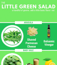THE Little Green Salad.