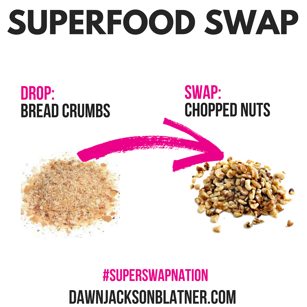 Sunday Superfood Swap Breading done better! Brush off the breadcrumbshellip