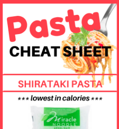 Pasta Cheat Sheet
