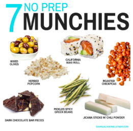 7 NO Prep Munchies
