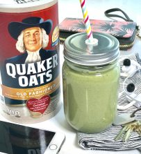 Meal-in-a-Glass Oatmeal Smoothie
