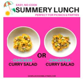 Curry Salad 2 Ways