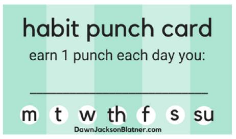 Punch Bad Habits Goodbye!