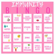 Immunity Bingo