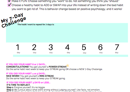 7-Day Challenge Tracker
