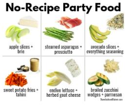 NO-RECIPE PARTY FOOD