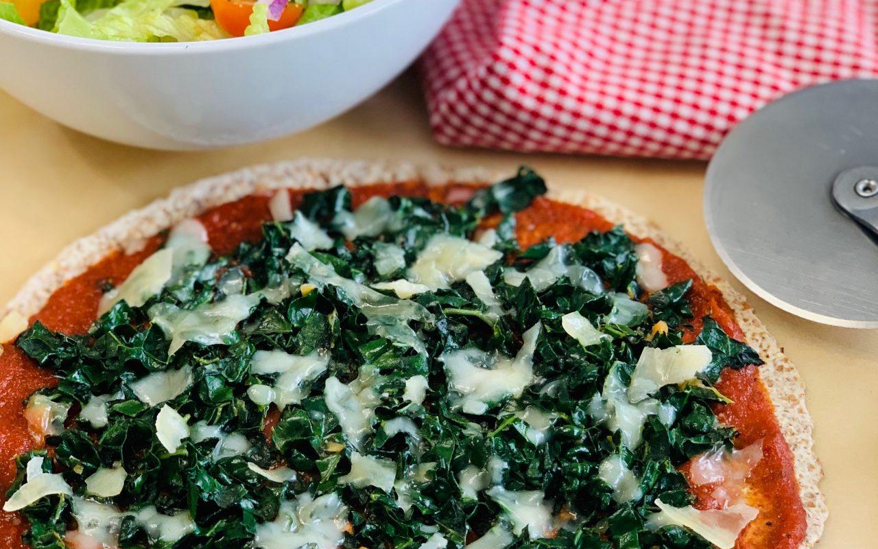 Quick Kale Pizza