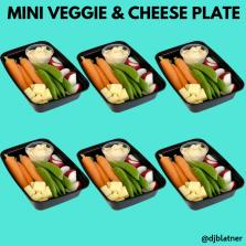 Mini Veggie & Cheese Plate