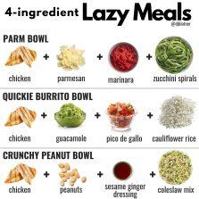 Lazy 4-Ingredient Meals