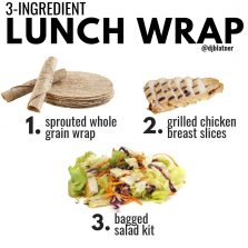3-Ingredient Lunch Wrap