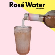 Rosé Water
