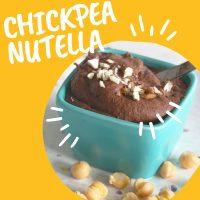 Chickpea Nutella